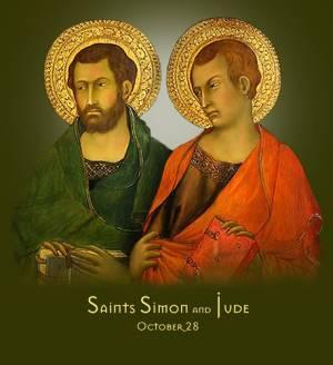 Ngày 28/10:  Thánh Simon và Thánh Giu-đê (Jude)